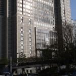 都庁を西側から - 2013/01/16 14:27