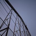 ジェットコースターのレーン - 2013/01/05 16:53
