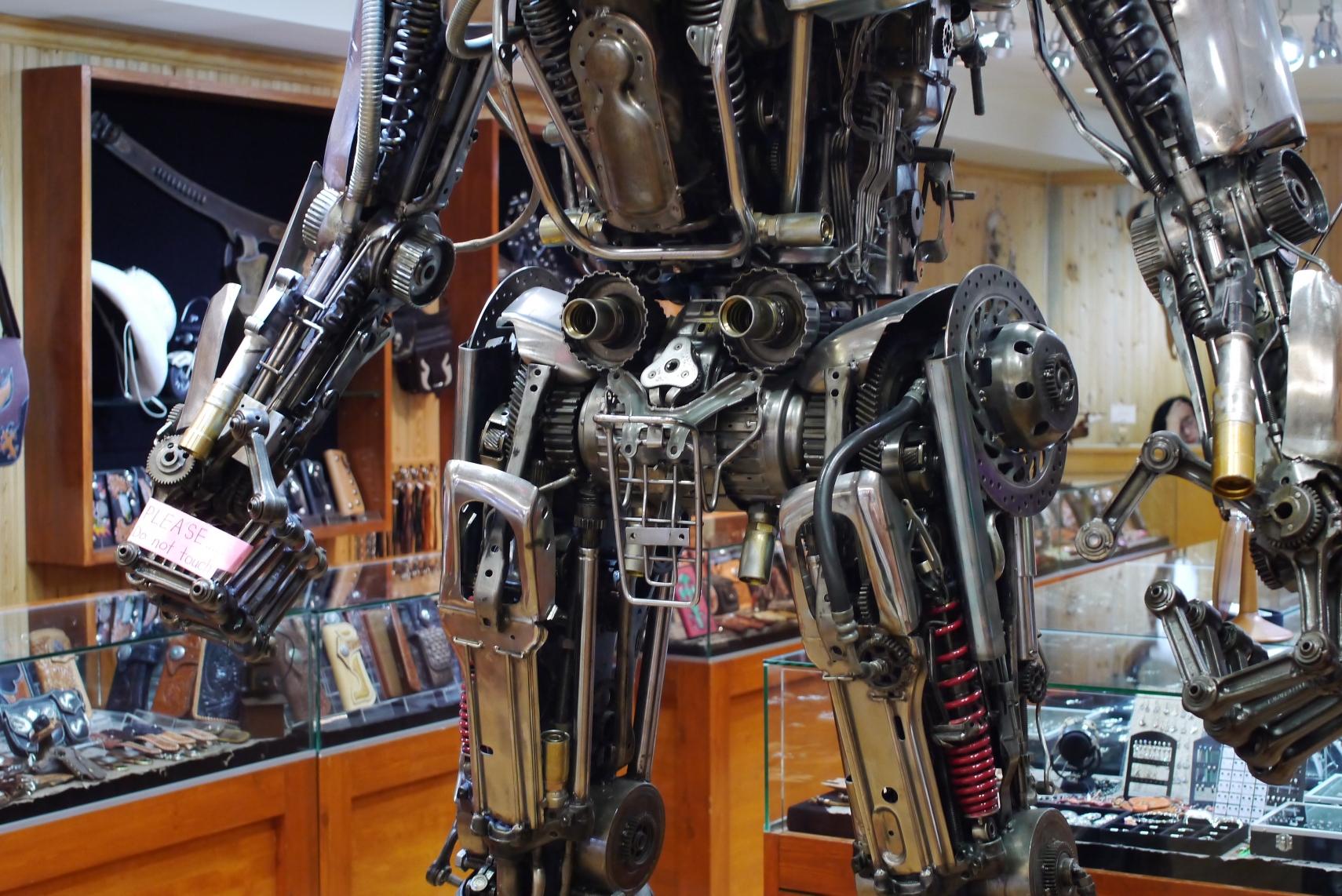 先行者っぽいロボット