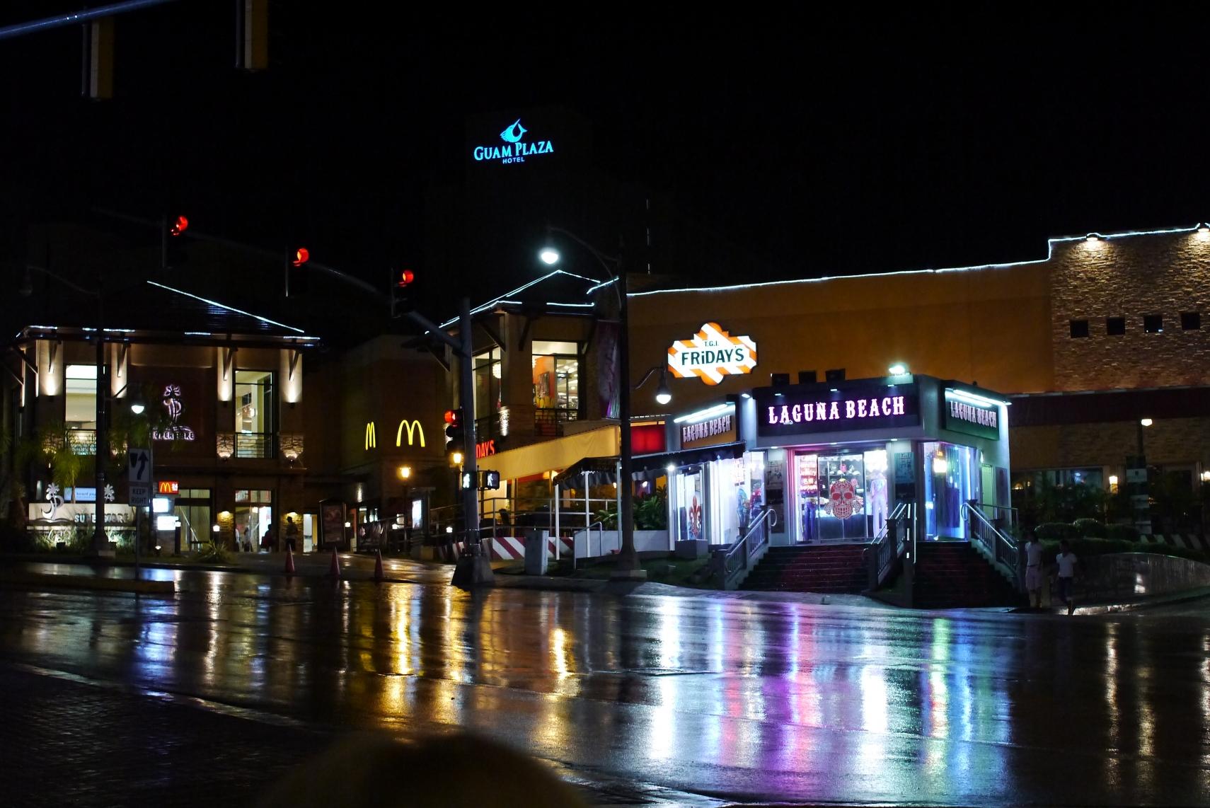 グアムの雨は通り雨