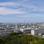 丸亀城下町と瀬戸大橋 - 2015/09/20 14:49